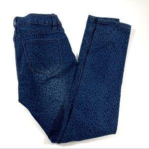 Ecko Unltd Leapord Jeans 5/6 Skinny